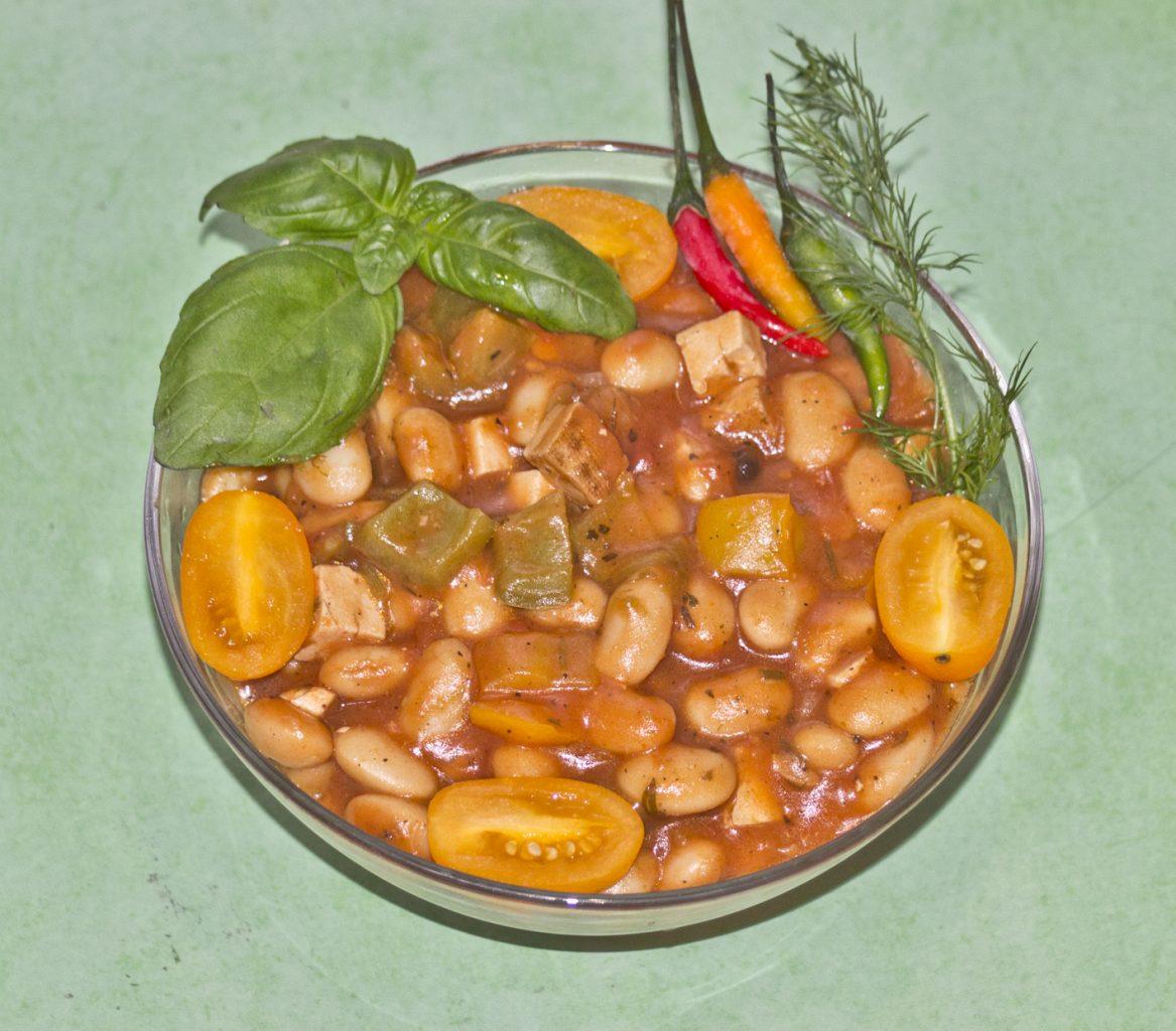 Fasola Po Bretonsku Z Tofu Kuchnia Bez Miesa