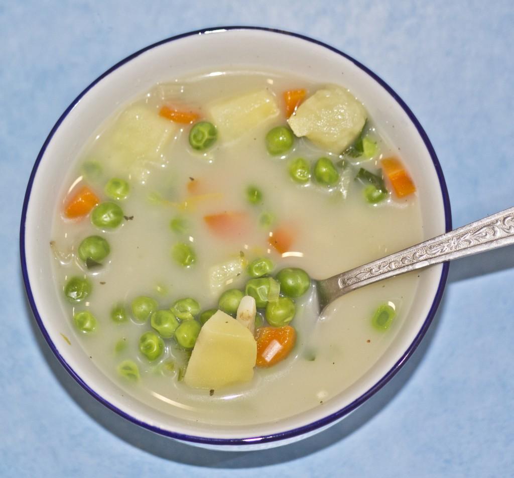 zupa z groszku ziel. 1
