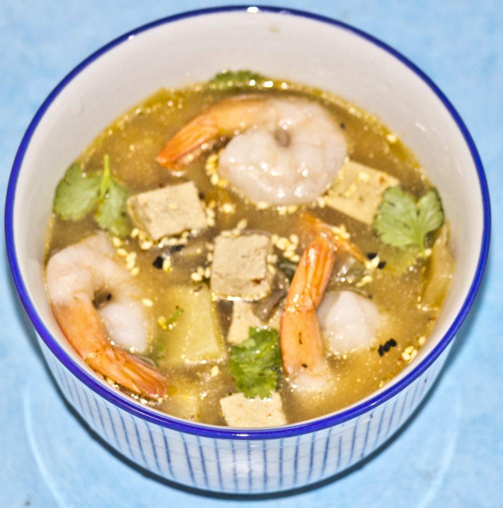 zupa z kimchi z krew.