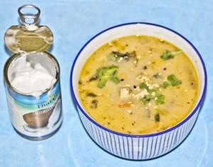 zupa z kimchi z ml.