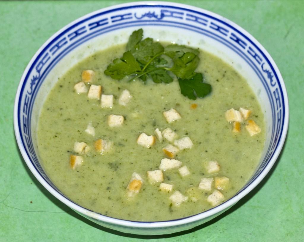 zupa zielona